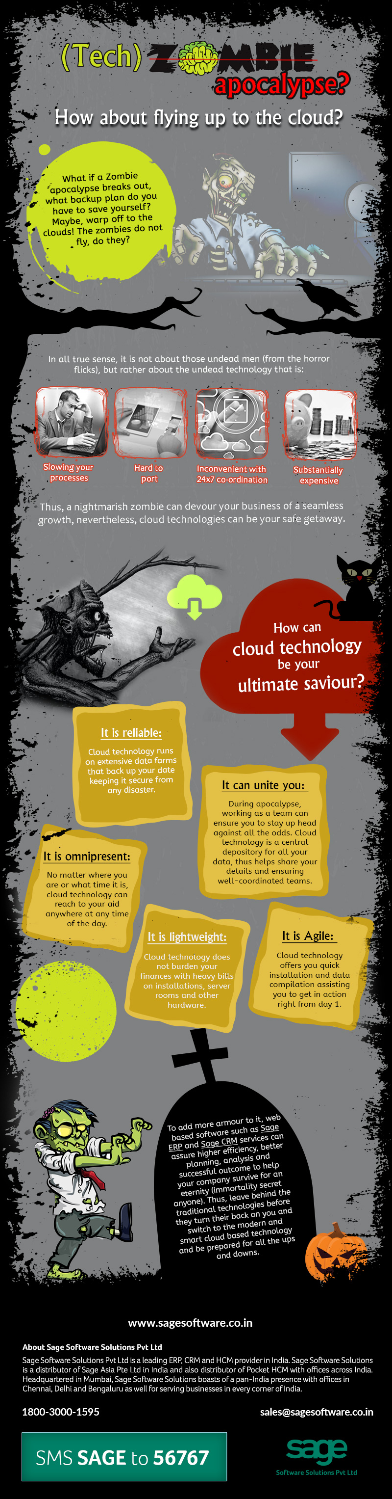 (Zombie) Tech apocalypse? How about flying up to the cloud?