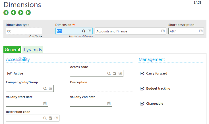 Master Code Change Functionality in Sage X3
