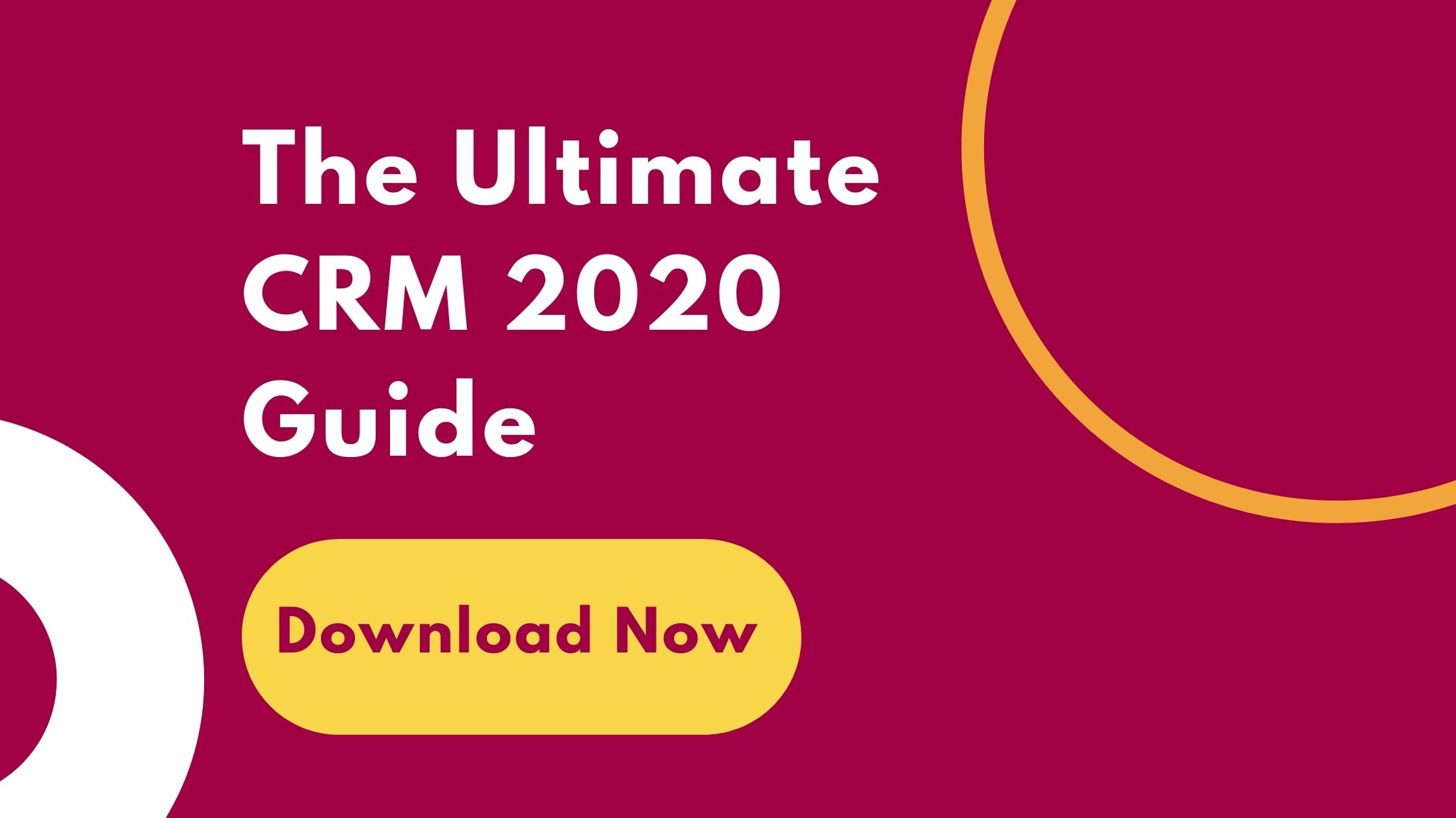 CRM 2020 Guide