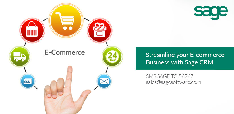 Streamline your E-commerce Business with Sage CRM