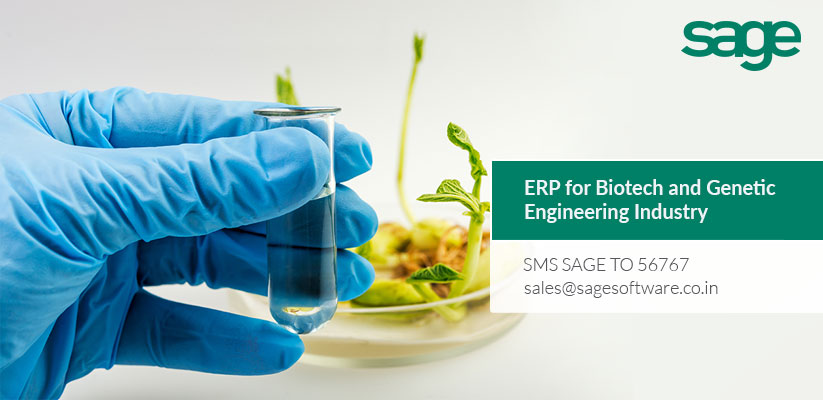 ERP for Biotech and Genetic Engineering Industry