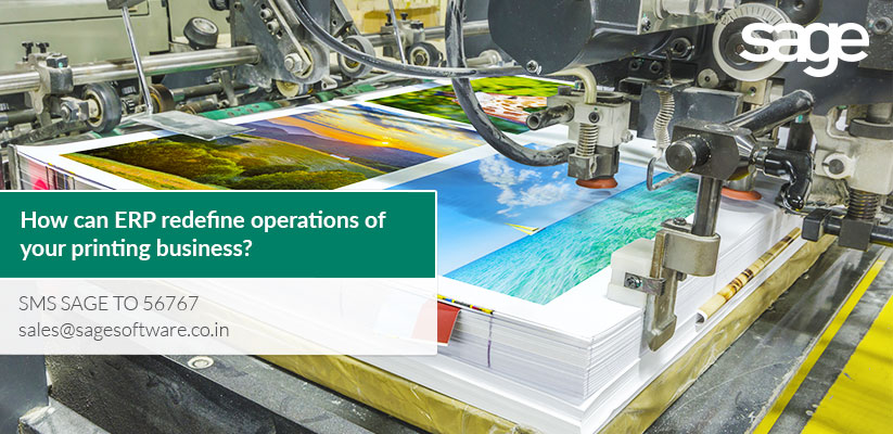 How can ERP redefine operations of your printing business?