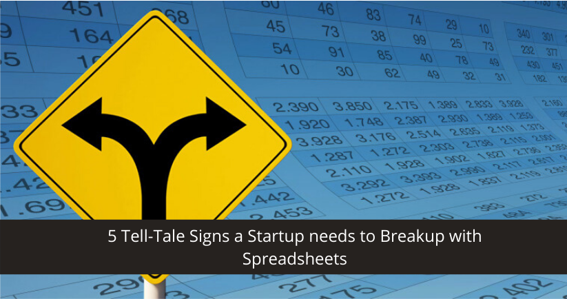 breakup with spreadsheet