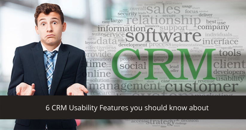 CRM Software Usability
