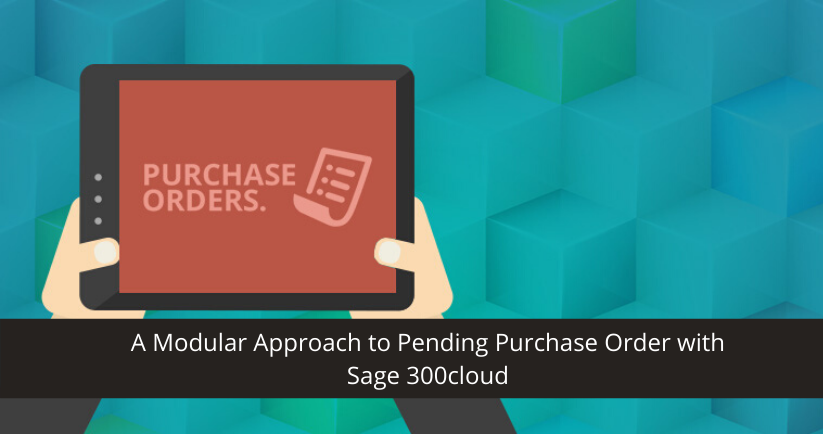 Purchase Order with Sage 300cloud