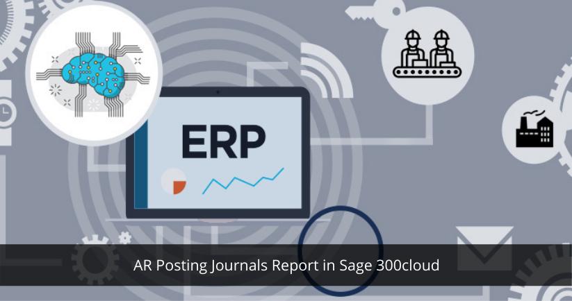 Sage 300 for AP Posting Journals