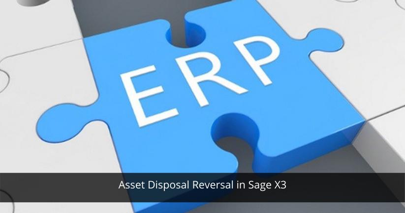 Asset Disposal Reversal