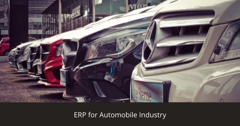 ERP for Automobile Industry