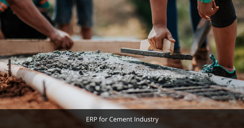 ERP for Cement Industry | Best ERP Software Provider