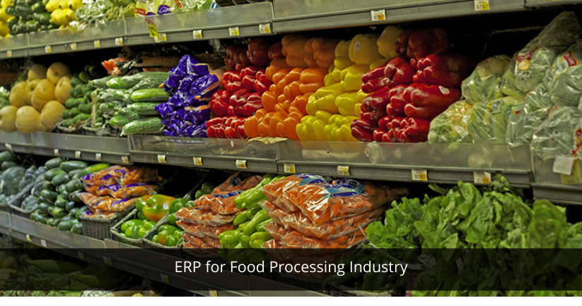 ERP for Food Processing Industry