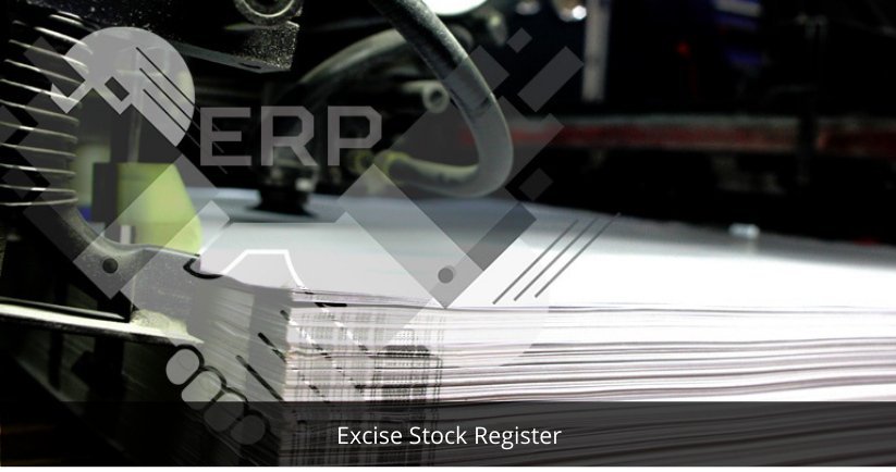 Excise Stock Register