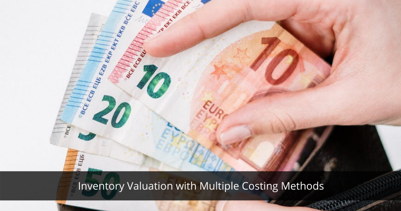 Inventory Valuation with Multiple Costing Methods