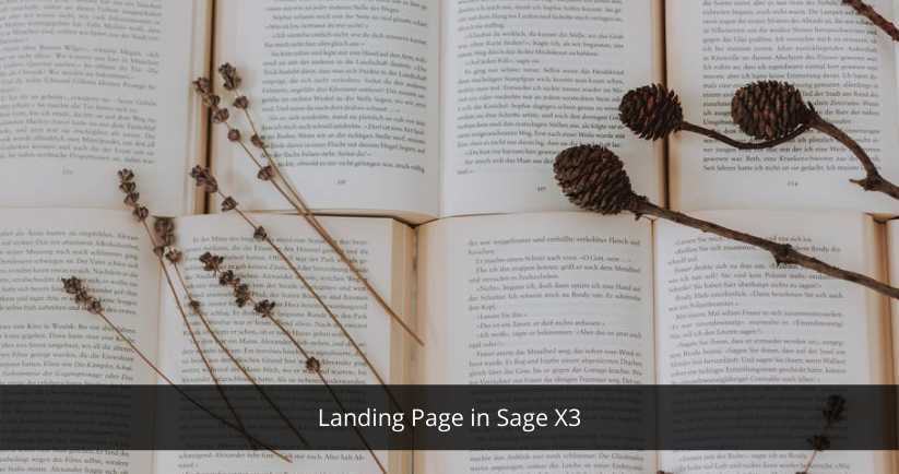 Sage X3 for landing page