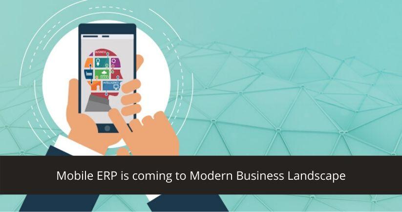 Mobile ERP
