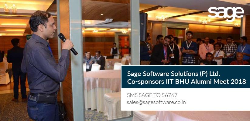 Sage Software Co-sponsors IIT BHU Alumni Meet 2018