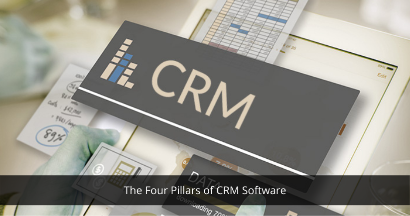 The Four Pillars of CRM Software