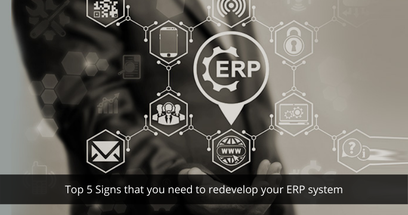 ERP System to redevelop