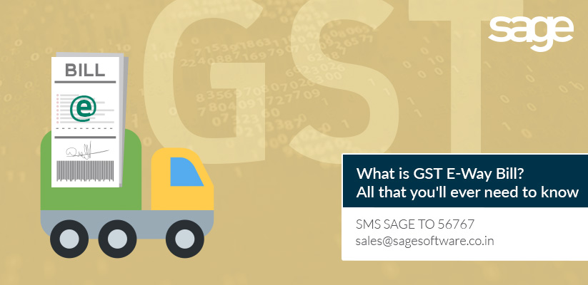 What is GST E-Way Bill