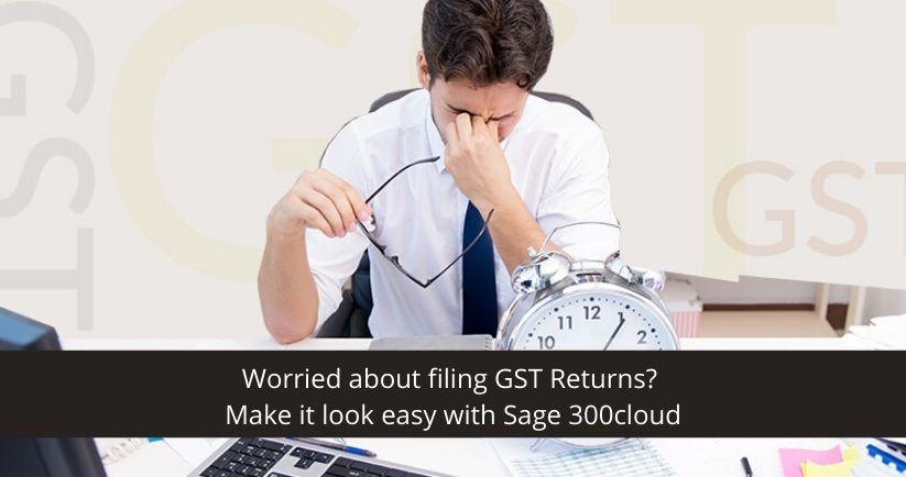 filing GST Returns