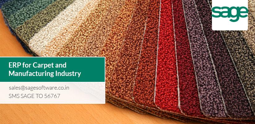 ERP for Carpet and Flooring Industry | Best ERP Provider