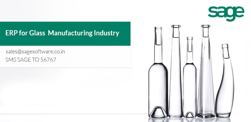ERP for Glass manufacturing industry | Best ERP Provider