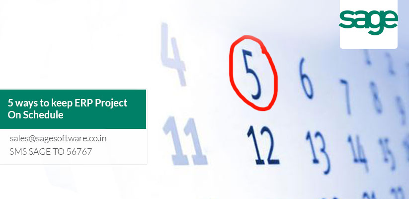 Five ways to keep ERP Project On-Schedule